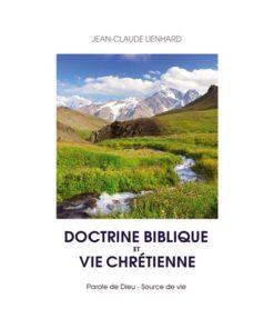 Doctrine biblique et vie chrétienne
